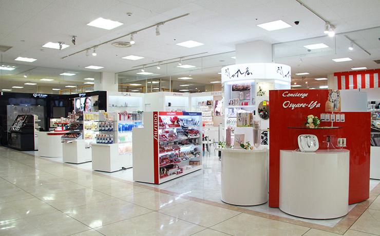 化粧品の店